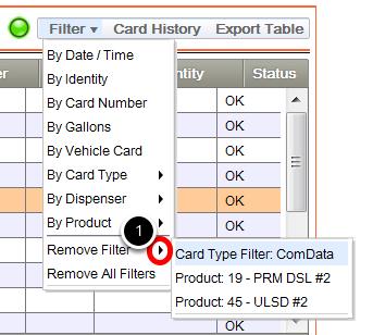 Remove Specific Filter