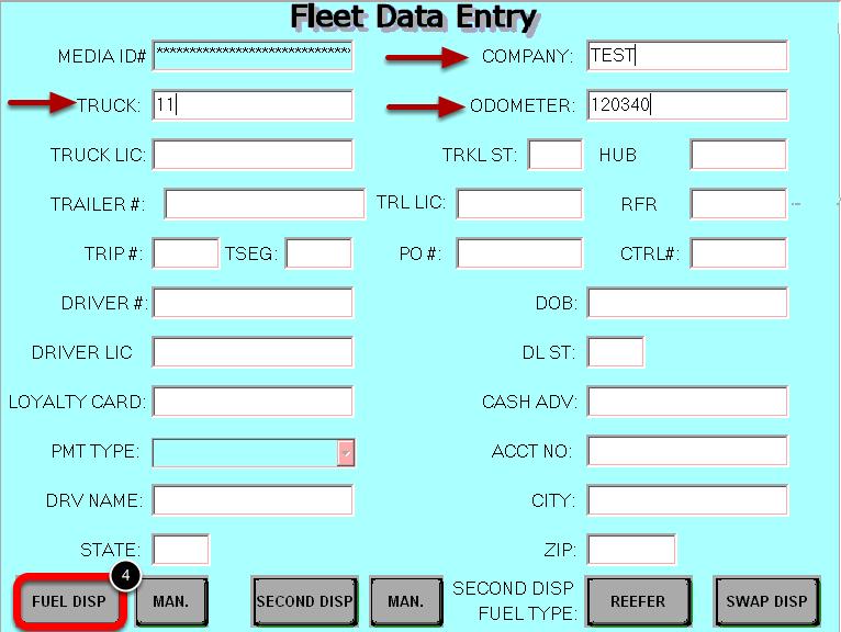 Enter the Fleet Data