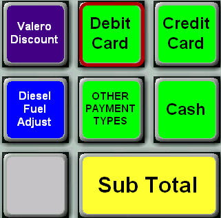 Debit Card Button