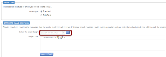 Attach your email