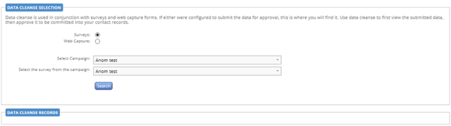 Note to retrieve contact data with summary approval switched on you will need to go to reporting and Data Cleanse
