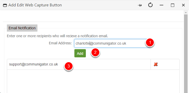Notification Email
