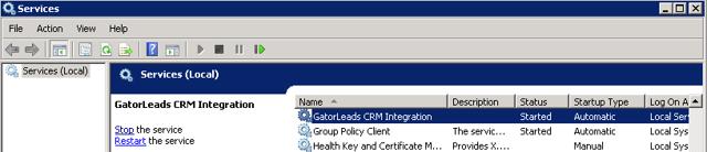 GatorLeads Integration Service
