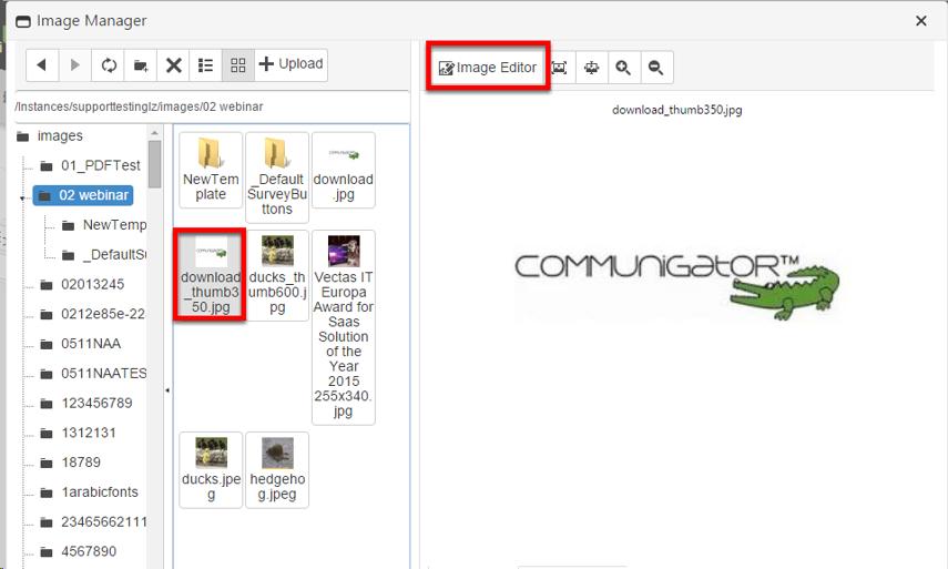 Open Image Editor