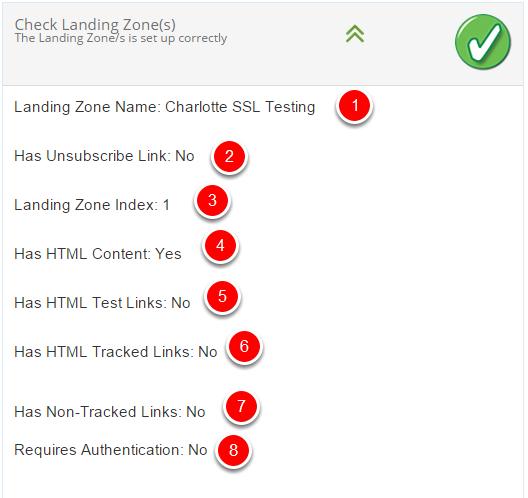 2. Check Landing Zone