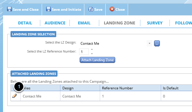 Attach the notification email to your campaign