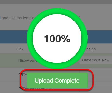 Upload Complete