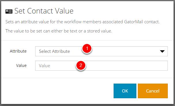 Set Contact Value