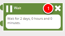 Step 2. (Deleting Waits & Re-Linking Stages)