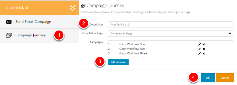 Step 2. (Campaign Journey)