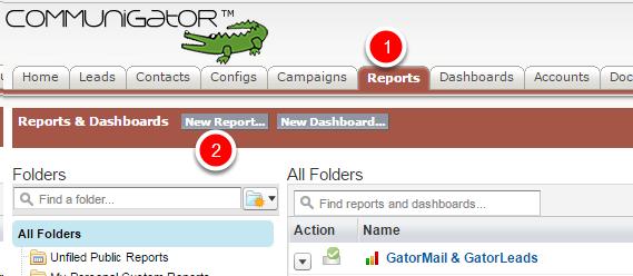Create the Salesforce Report
