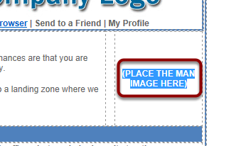 Highlight '(PLACE THE MAN IMAGE HERE)'