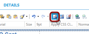 Click on the Image Manager icon from the top menu