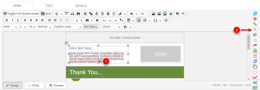 Insert a Document Link