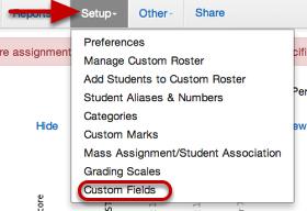 Editing/Deleting your custom field