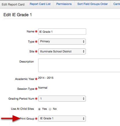 Where Do I See This On the Report Card Setup Process?