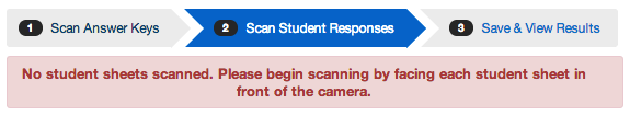 Scan Student Answer Documents