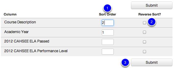 Determine Sorting Order