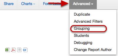 Edit Grouping