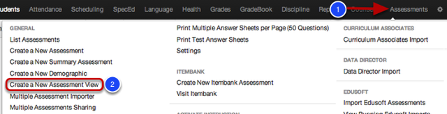 Push Assessments to Ze Library