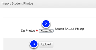 Uploading your Zip File