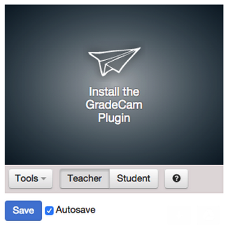 Currently if you have no plugins the install page looks like this: