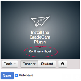 With noplugin it will look like this: