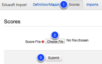 Importing Scores