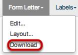 Download Form Letter