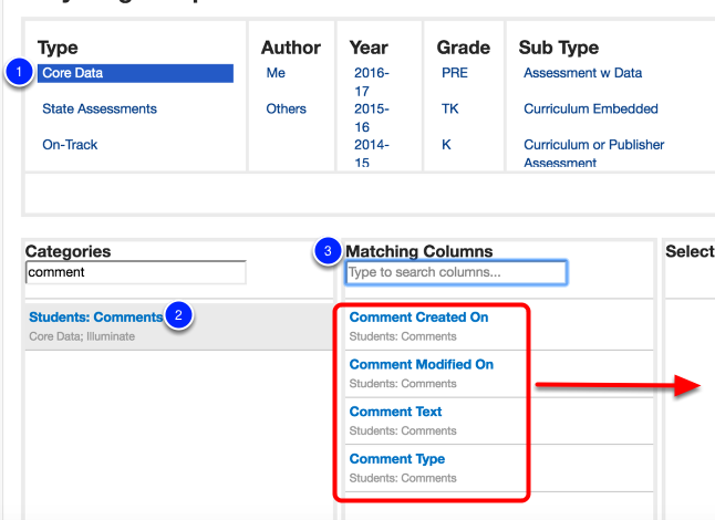 Can I Use Student Comments in Custom Reports?