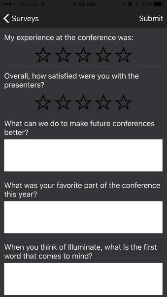 11. Conference Feedback