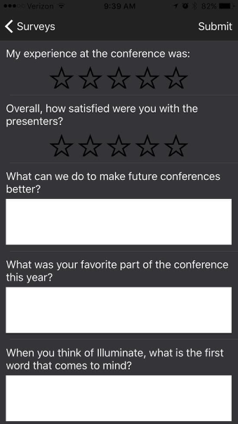11. Conference Feedback