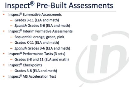 INSPECT Assessment Suite
