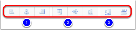 Format using the Toolbar