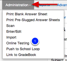 Assign/Enable an Assessment