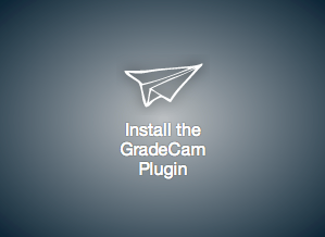 Has the GradeCam plugin been installed?