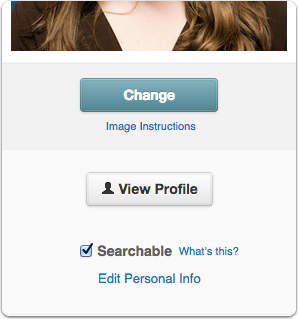 Check the box to make your Portfolio searchable or not searchable, and click Save