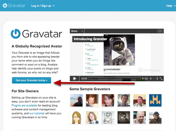 Anybody can upload their photo or avatar at Gravatar for free.
