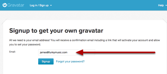 The email address you use here, must match up with the email address you have on the mailing list.