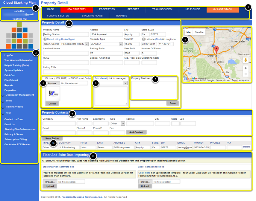 Property Detail Overview