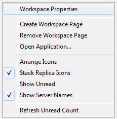 Using the Notes database properties box to delete the database index