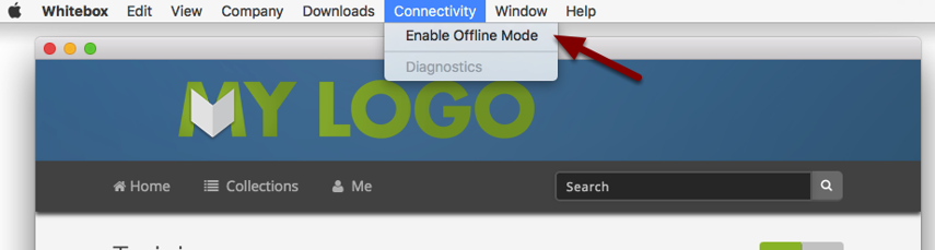 Enabling Offline Mode