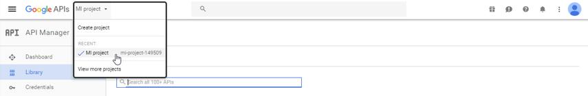 Google APIs Console