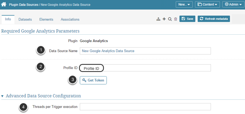 Provide the Required Google Analytics Parameters