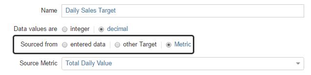 Target Data Source