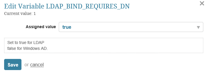 LDAP Bind Requires DN