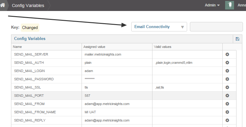 Configure outbound messages for notifications and digests