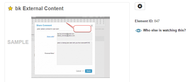 'External Content' elements are never included in Digests