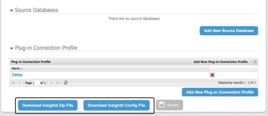 Finally, download the Insightd installer on to the machine your server
