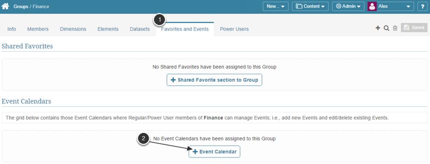 Adding Event Security via a Group Editor